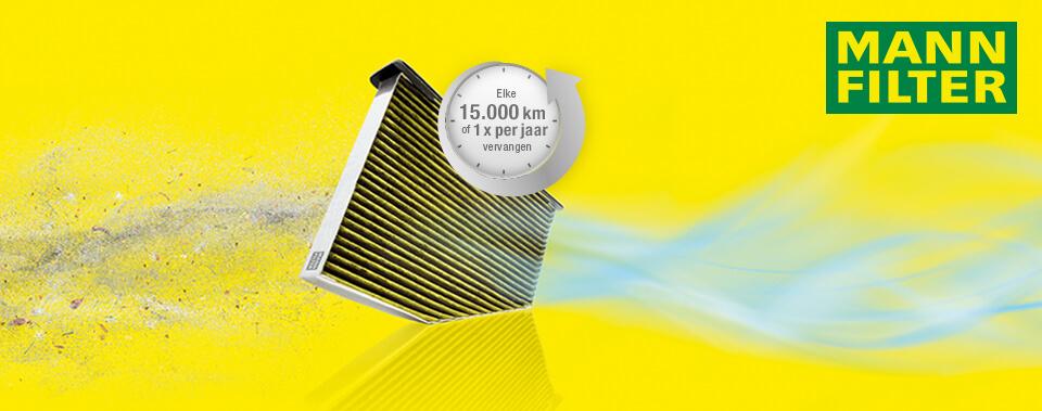 FreciousPlus interieurfilter Mann Filter
