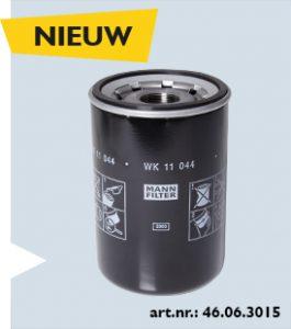 Het nieuwe brandstoffilter van Mann Filter voor Volvo en Renault