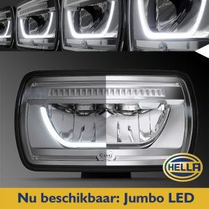Nu beschikbaar bij Wijlhuizen: Hella Jumbo LED verstraler