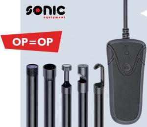 Sonic video-endoscoop bij Wijlhuizen